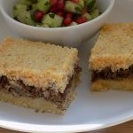 Kibbeh with beef filling