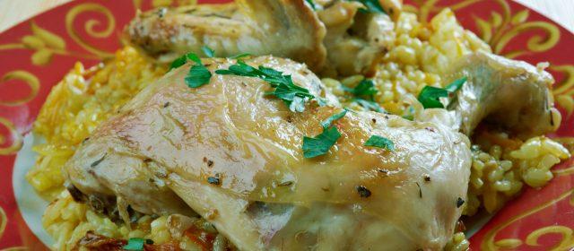 Bahraini Chicken Machboos