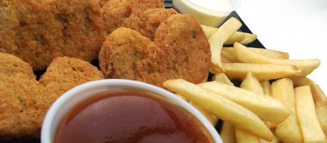 Chicken Nuggets with Szechuan Sauce