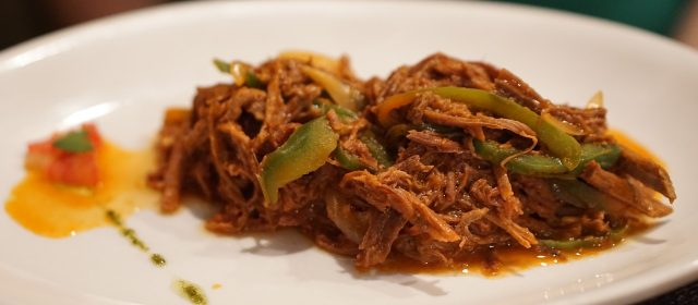 Cuban Vaca Frita - Fresh and juicy cooked and grilled beef seasoned with cumin, chipotle, and ancho pepper.