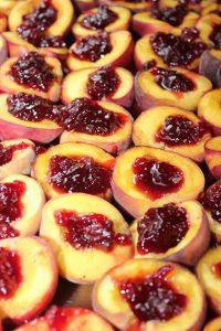 peach cranberries