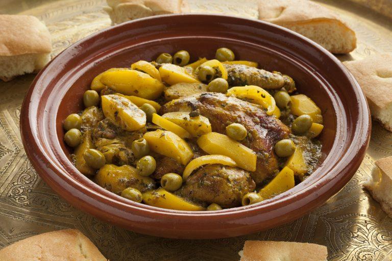 Chicken Olives Tagine
