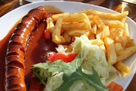German Currywurst