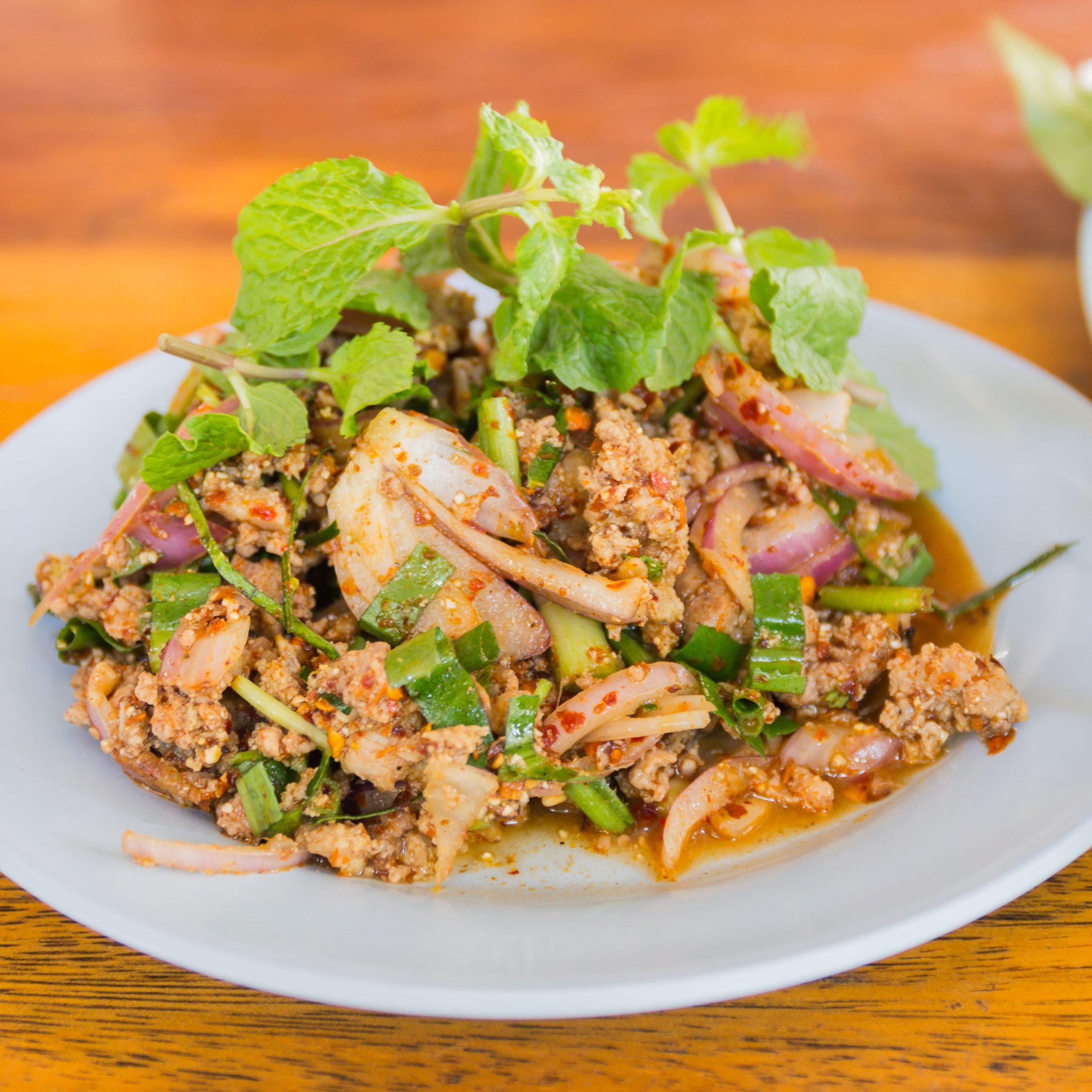 Laotian Larb