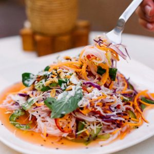 Cambodian Rice Noodle Salad