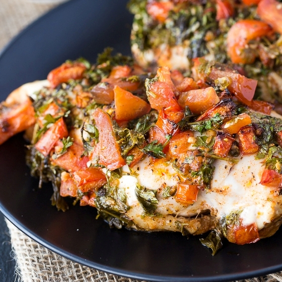 Chimichurri Chicken by SimplyStacieBlog