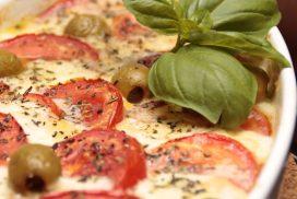 Italian Pollo con Pesto al Forno