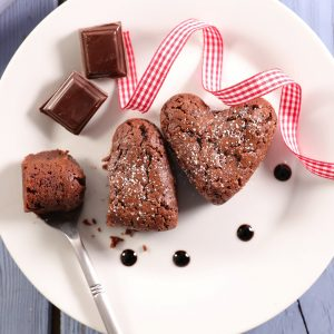 Chocolate Rose Dessert