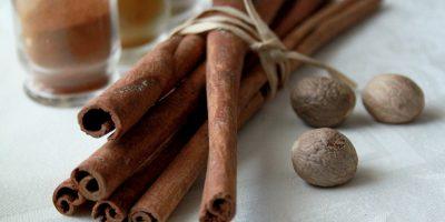 nutmeg cinnamon